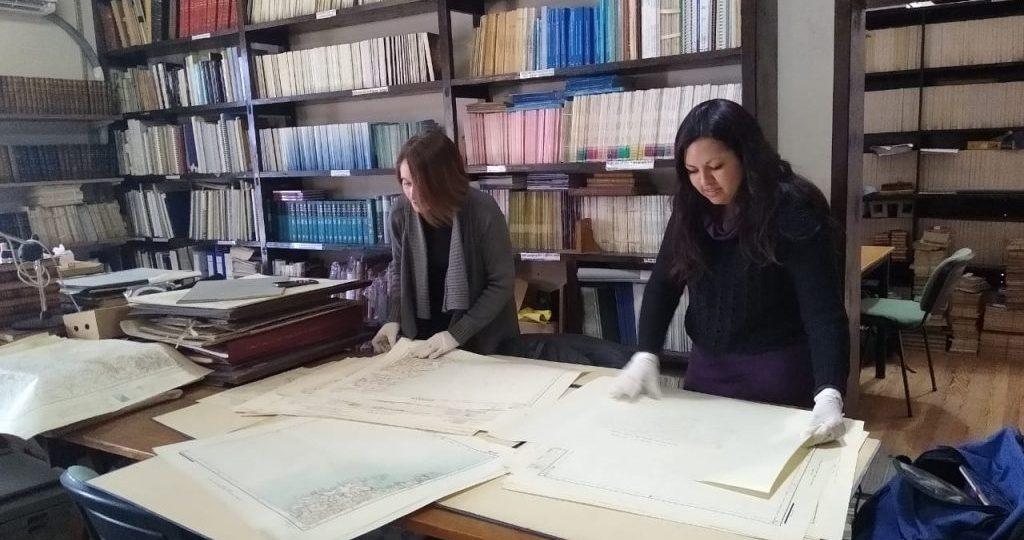 La Biblioteca del OAC está procesando su colección cartográfica